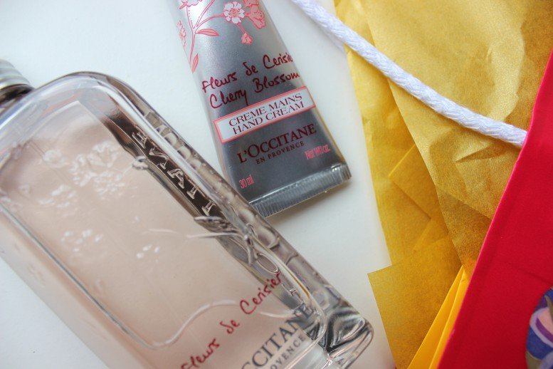 LOccitane Cherry Blossom Collection Review