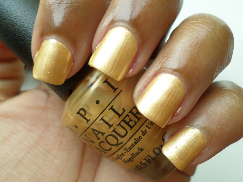 OPI Rollin In Cashmere