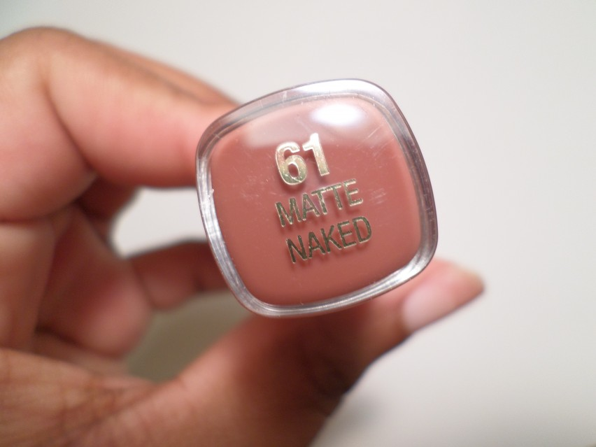 Milani Cosmetics Naked Matte Lipstick