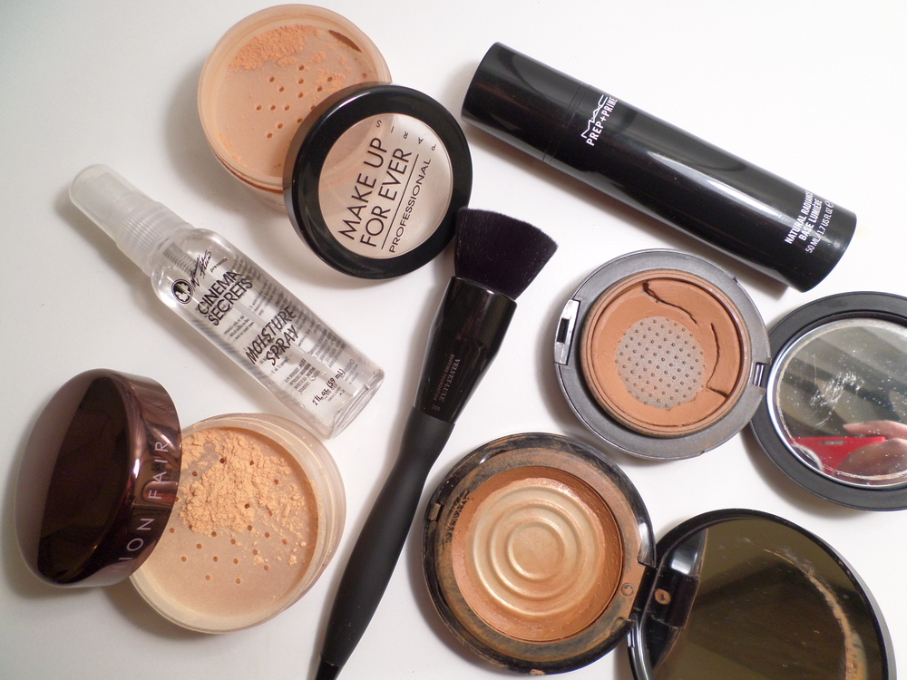 winter foundation products tools makeup