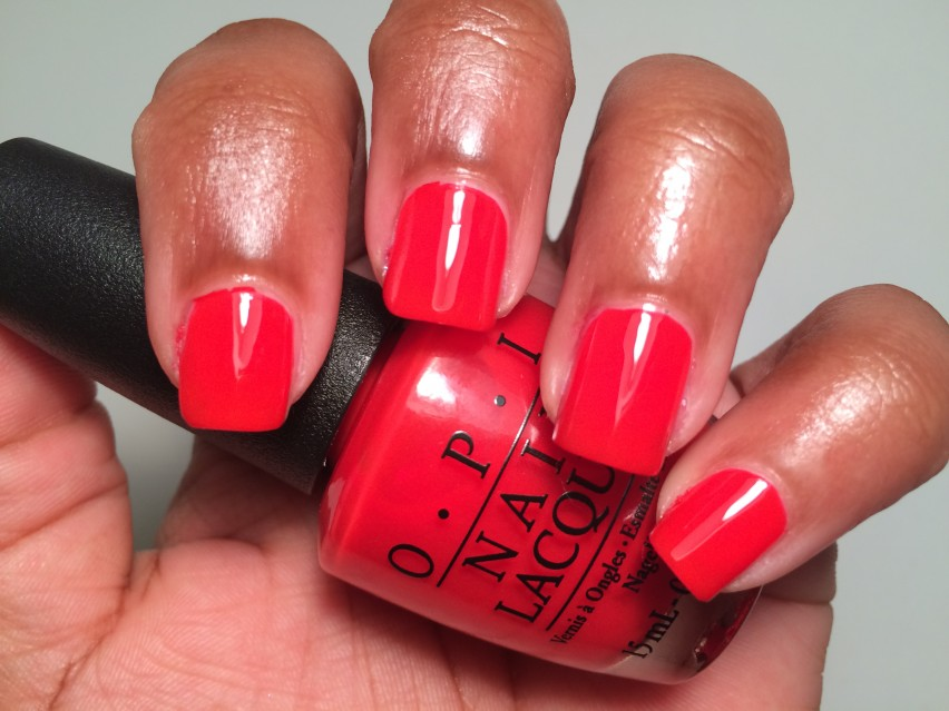 OPI I STOP For Red - OPI Brights Collections 2015 (2)