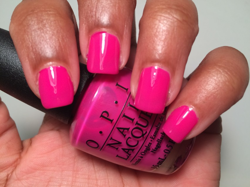 OPI The Berry Thought of You - OPI Brights Collections 2015 (5)
