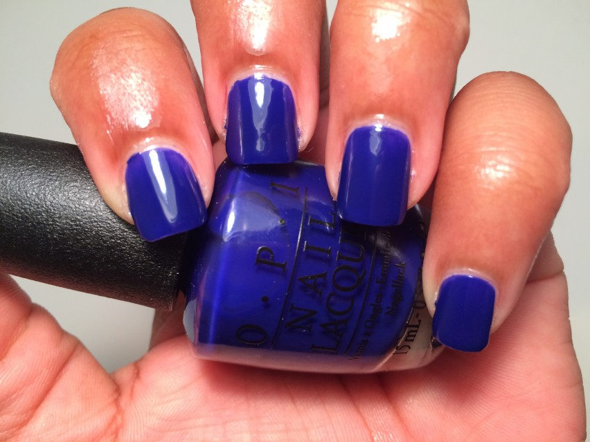 OPI My Car Has Navy-gation - OPI Brights Collections 2015 (6)