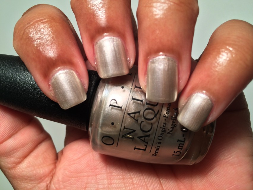 OPI This Silver's Mine - OPI Soft Shade 2015 Collection (2)