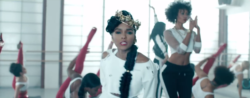 janelle monae yoga video fishtail braid 2