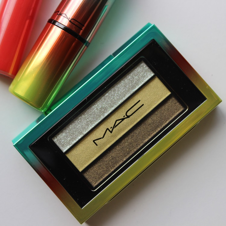 MAC Cosmetics Veluxe Pearlfusion Green Clean Eyeshadow Trio