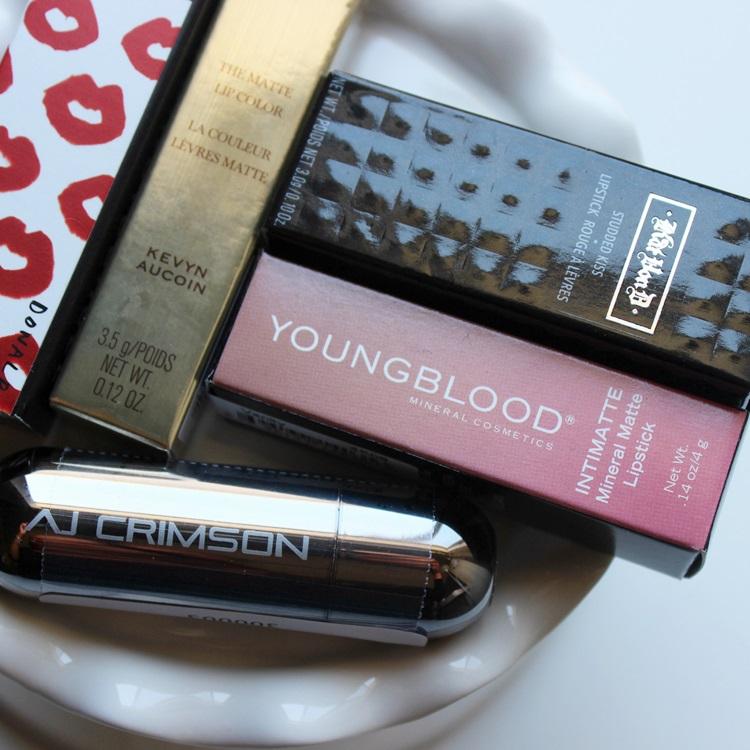 smashbox kat von d aj crimson youngblood kevin aucoin lipstick (3)