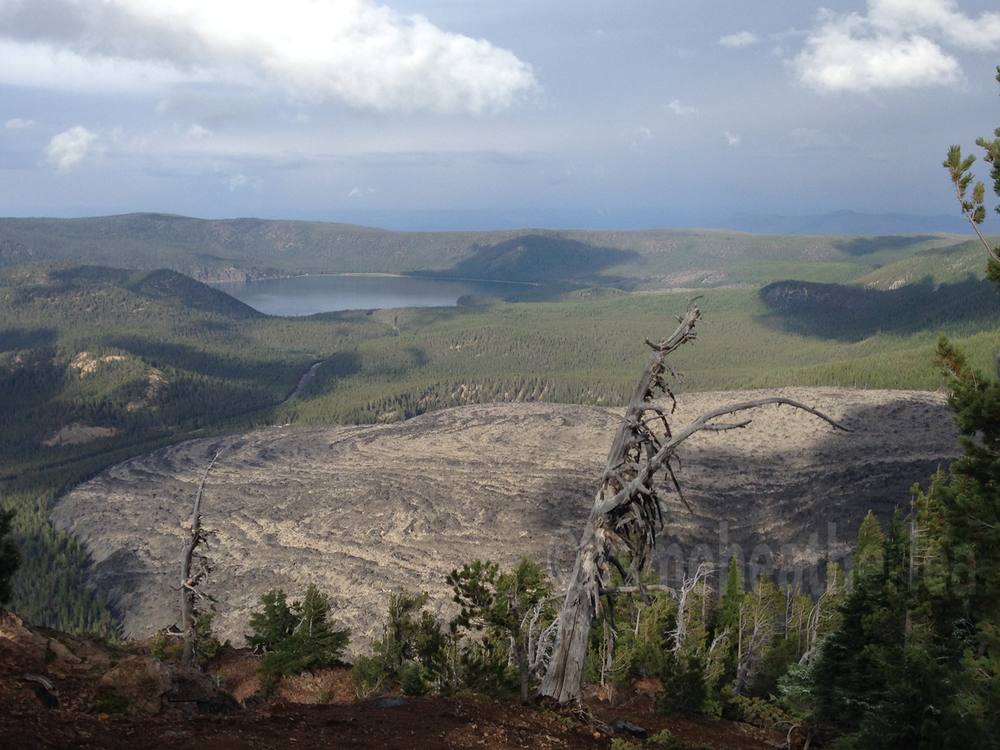 The Big Obsidian Flow @ Paulina Peak Overlook