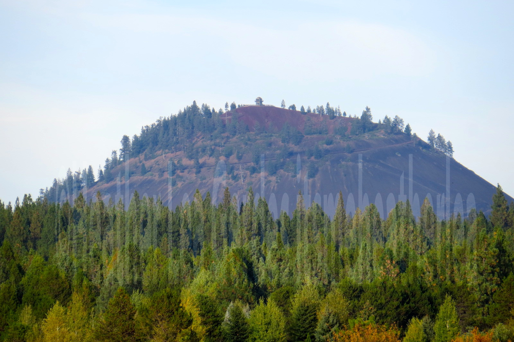 Lava Butte  is a giant cinder cone off Highway 97 not far from Sunriver.