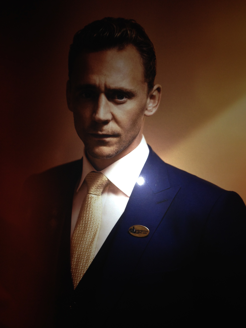 Tom Hiddleston is The Night Manager.  How may I be of service?  ... Uh, need you ask?