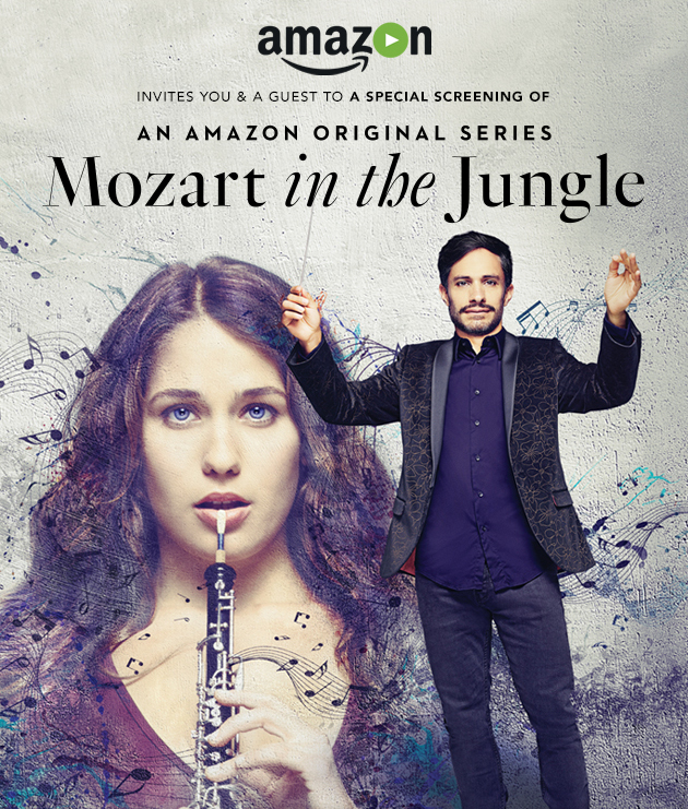 Mozart in the Jungle FYC invitation