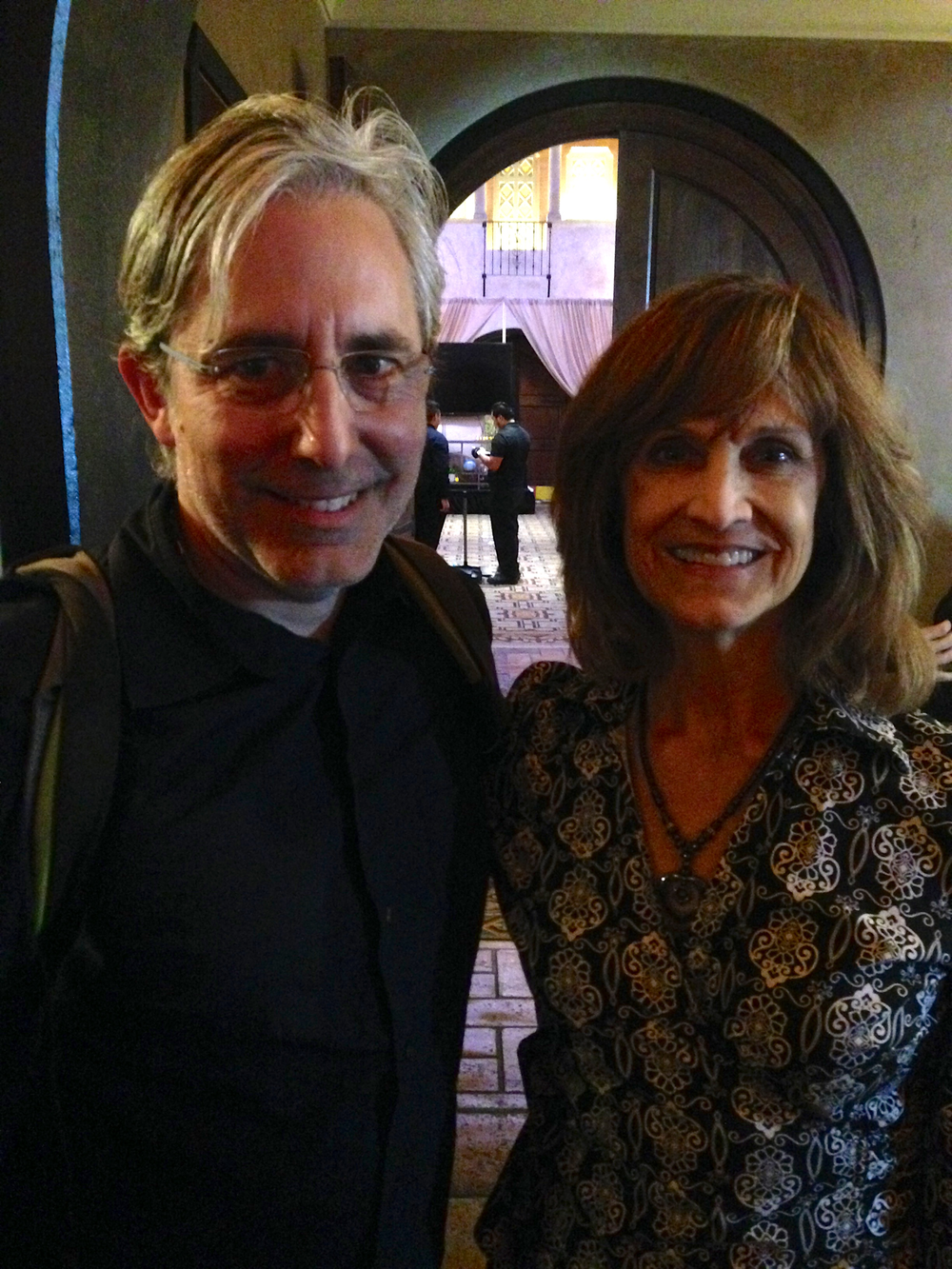 Paul Weitz and Heather Lea Gerdes @ Mozart in the Jungle FYC, The Hollywood Roosevelt Hotel