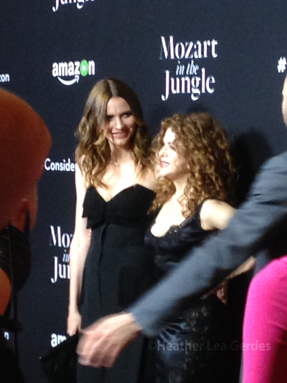Saffron Burrows and Bernadette Peters, Mozart in the Jungle FYC @ The Hollywood Roosevelt Hotel