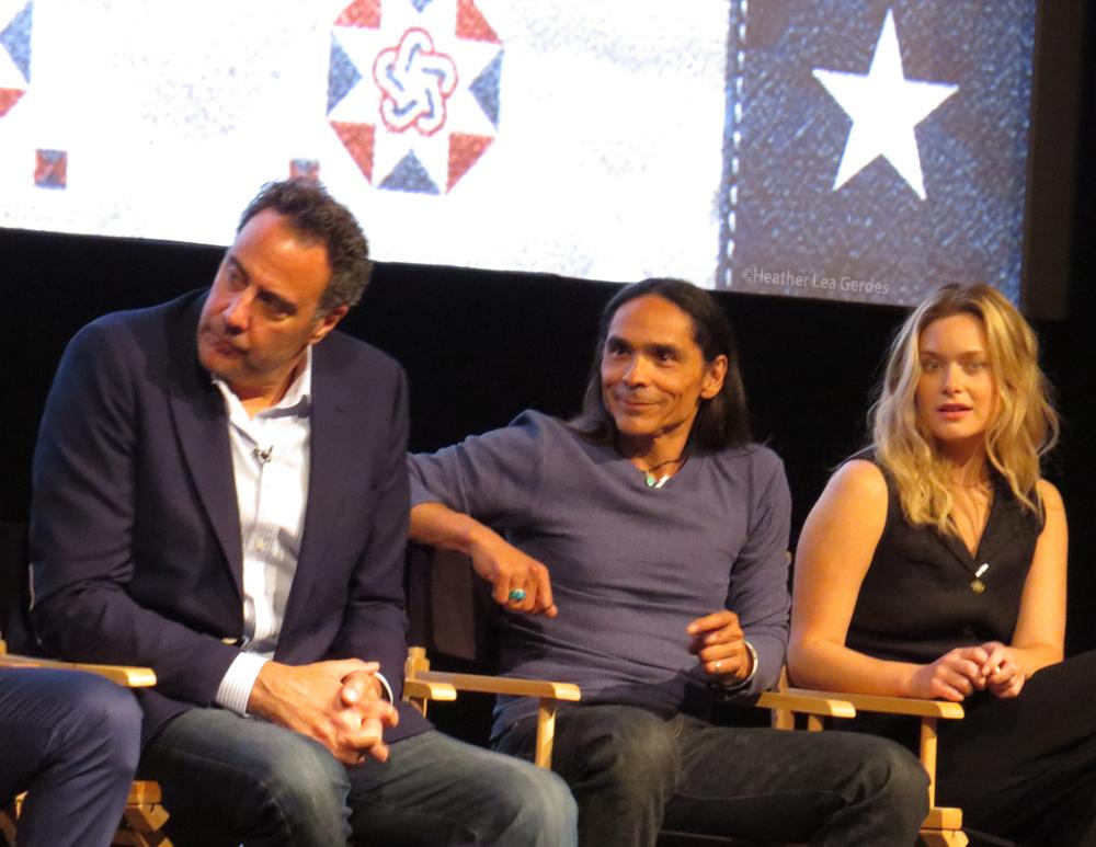 Brad Garrett, Zahn McClarnon, Rachel Keller @ Fargo FYC at Paramount Studios, Los Angeles