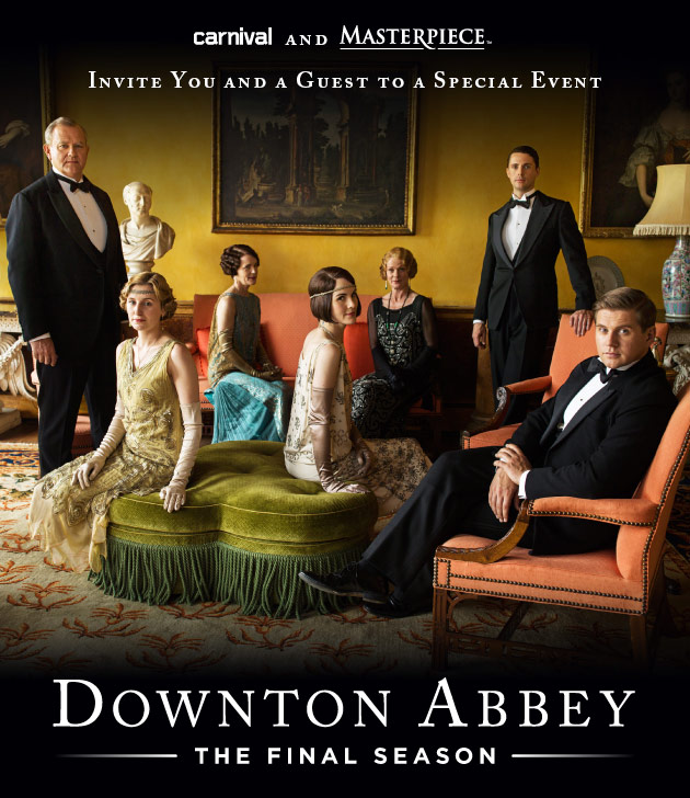 Downtown Abbey The Final Season FYC invitation