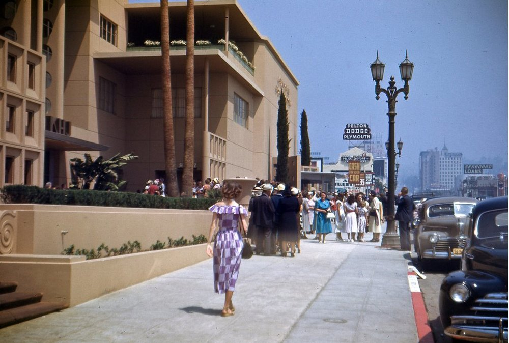 From:   Vintage Los Angeles '  1950s image of what is now the Pickford Center for Motion Picture Study