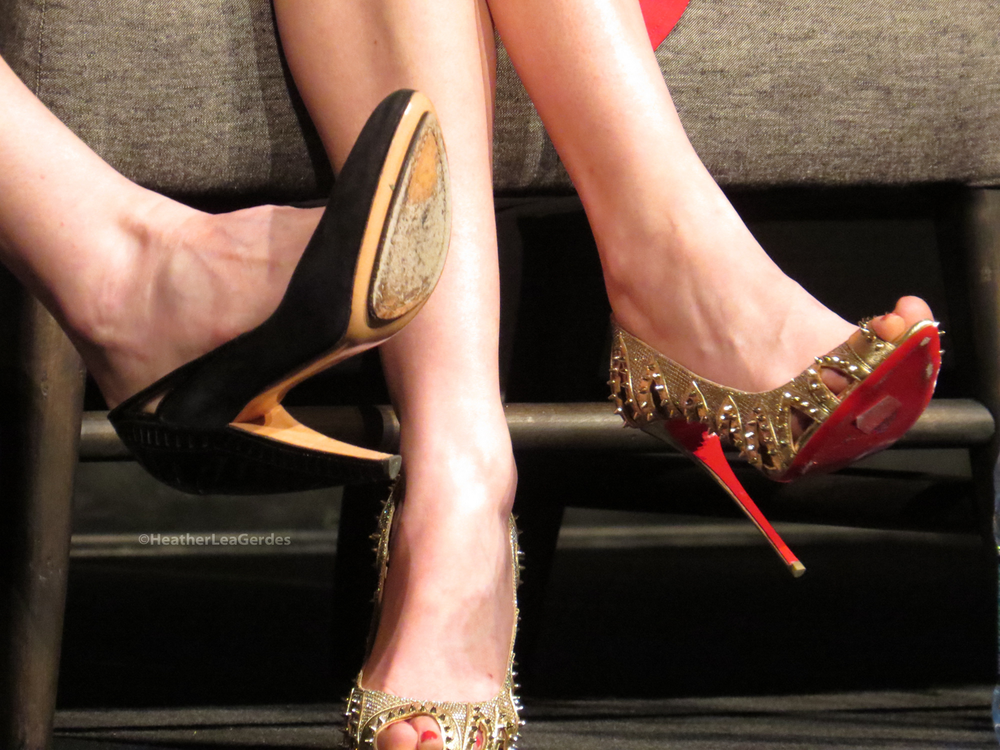 Jessica Jones FYC. The Hollywood ladies love their shoes!