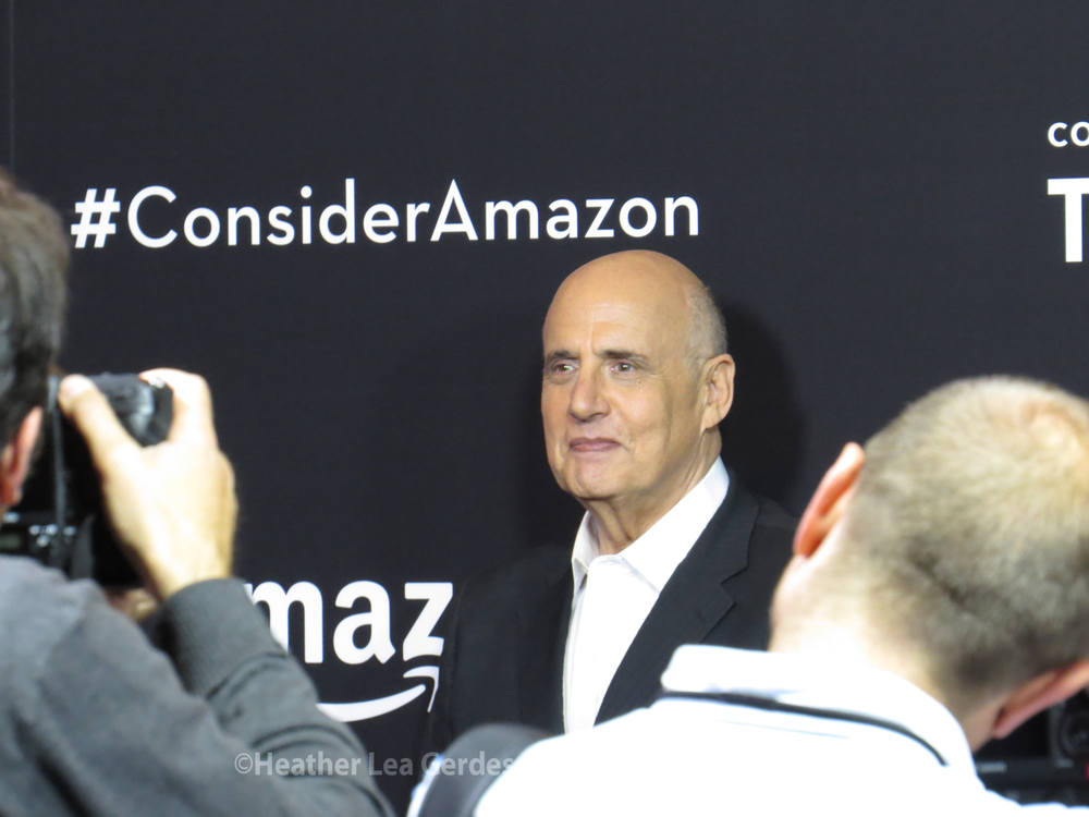 Transparent's  Jeffrey Tambor looking handsome and proud at the FYC.