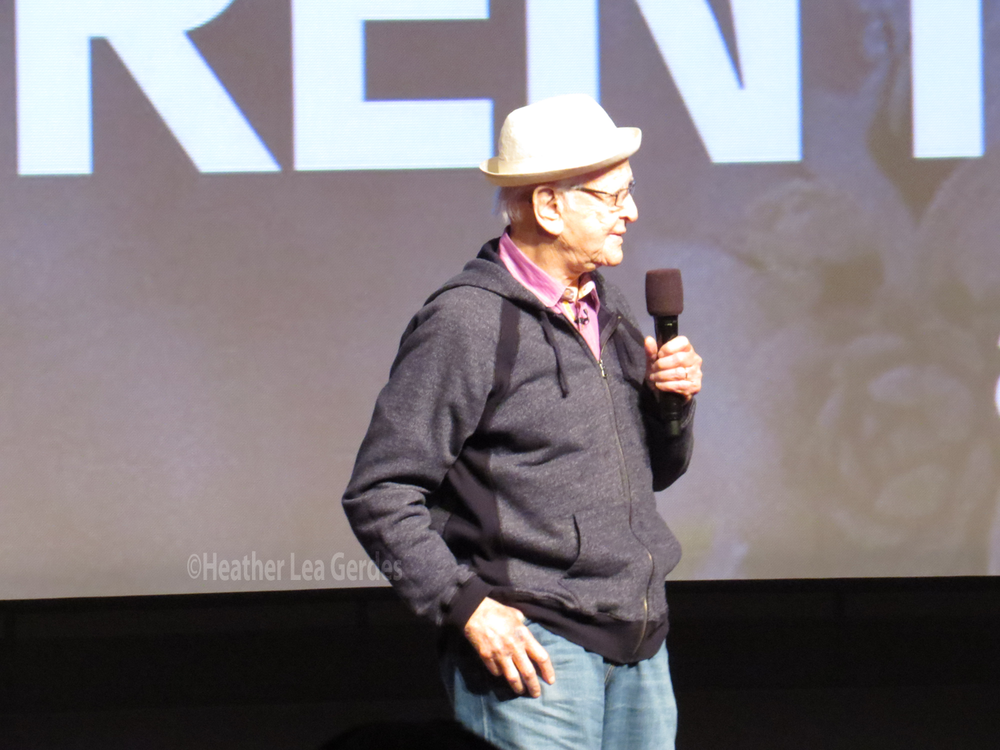 Norman Lear surprised everyone at  Transparent's  FYC at the DGA in Los Angeles, CA.