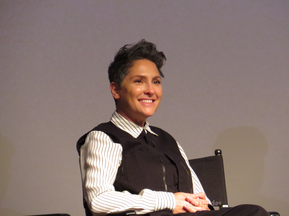 Transparent's  Director/Writer, Jill Soloway at the FYC in Los Angeles, CA.