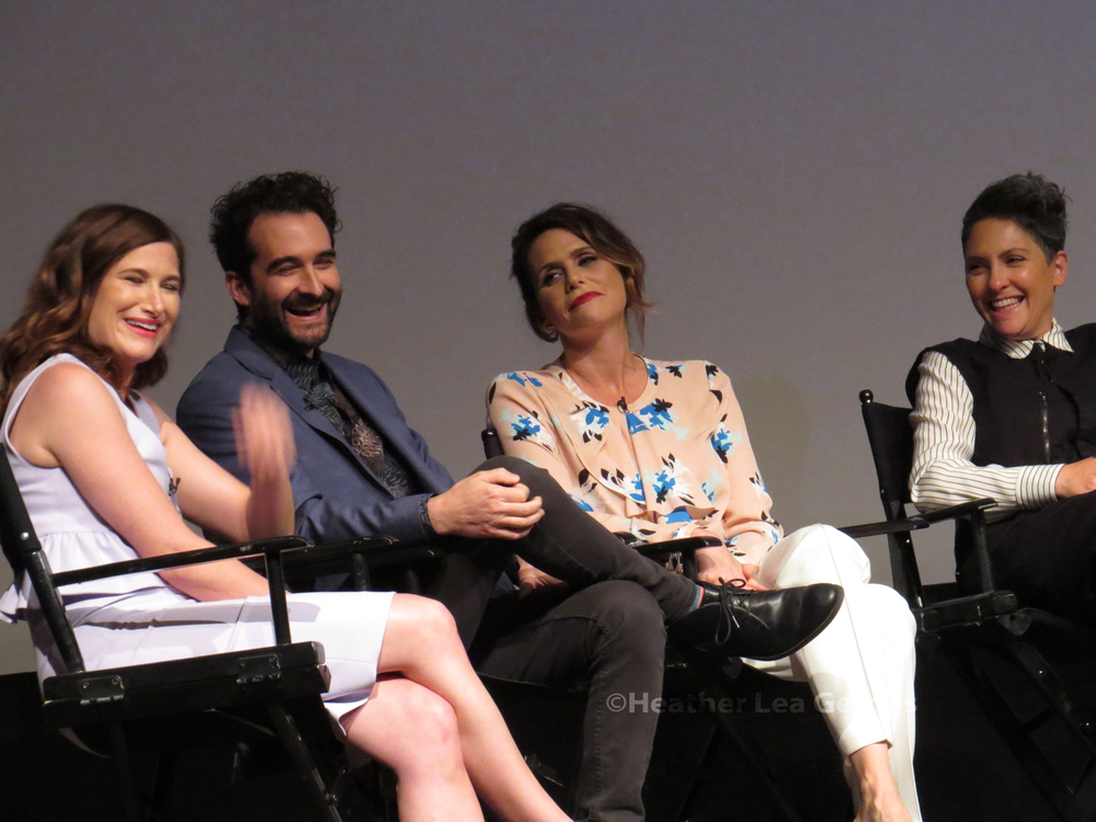 Transparent's Kathyrn Hahn, Jay Duplass, Amy Landecker, and Jill Soloway at the show's FYC in Los Angeles, CA.