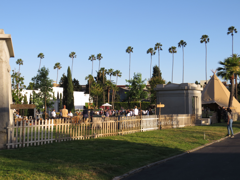 ATAS FYC special area for  The Path  @ Hollywood Forever Cemetery in Los Angeles, CA