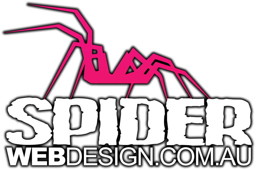 spider web design website development business branding perth wa