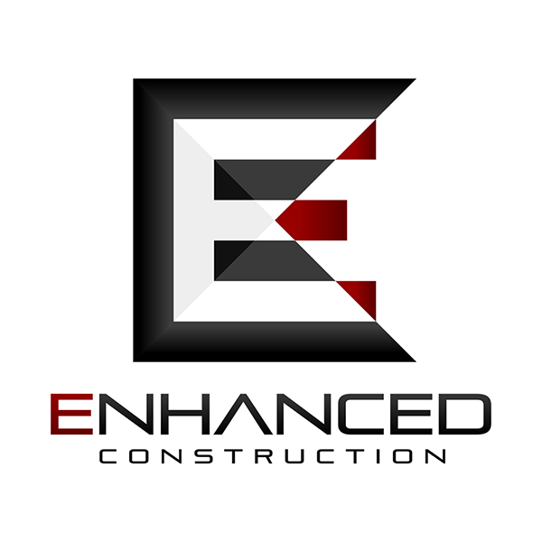 Enhanced Construction - Logo Design by Spider Web Design