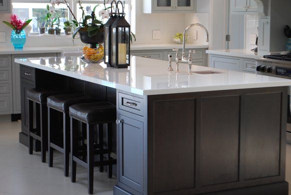 Miami Dream Kitchen - Inset Cabinetry