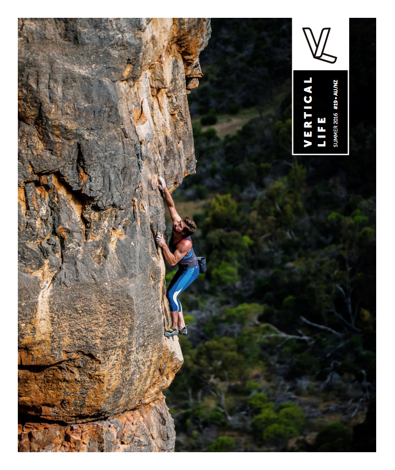 Danny Quade Soloing Los Endos at Mt Arapiles