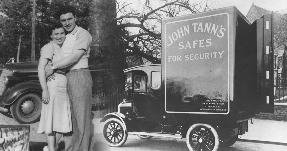 John and Stella Mancini, Founder, Bank Vault Service & Lock Company; Distributor of John Tann