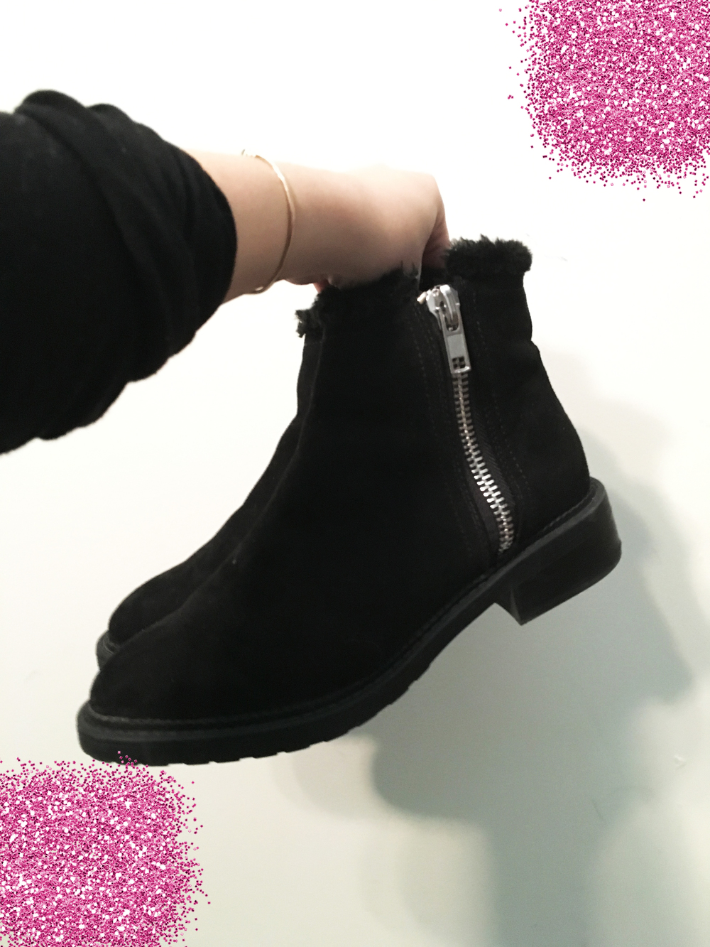 Black Boots by Forever21