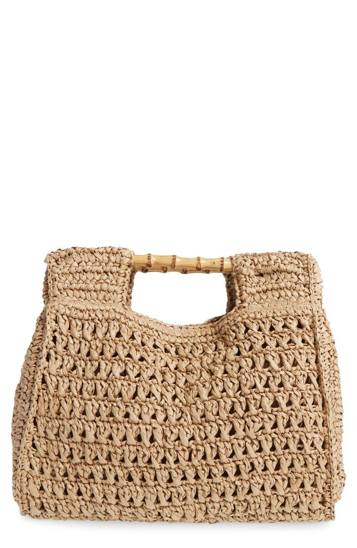San Diego Hat Woven Straw Tote