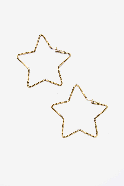 Lena Bernard Stellar Star Earrings Nasty Gal