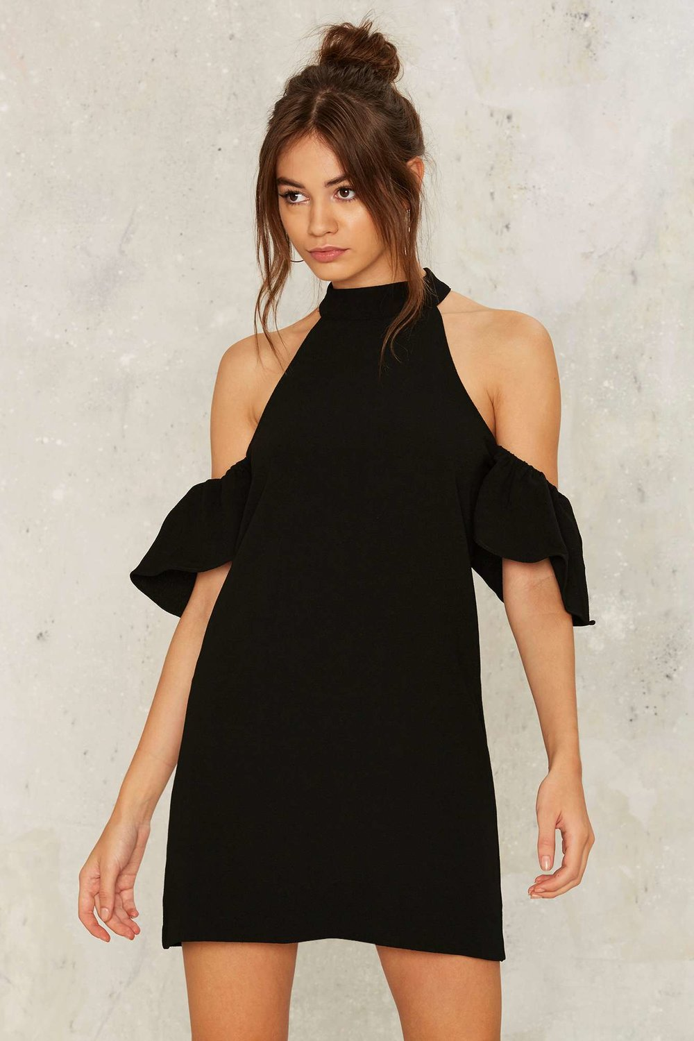 Nasty Gal Ginny Cold Shoulder Dress