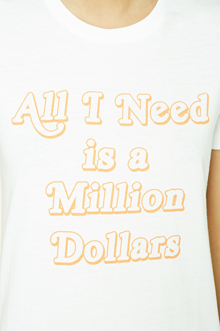 This Forever21 tee is really doable at only $8.90! Isn't this so true?