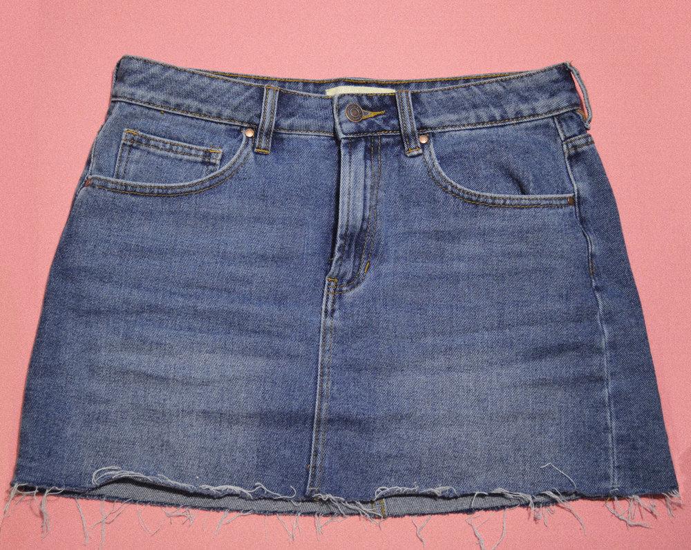 Pacsun Jean Skirt