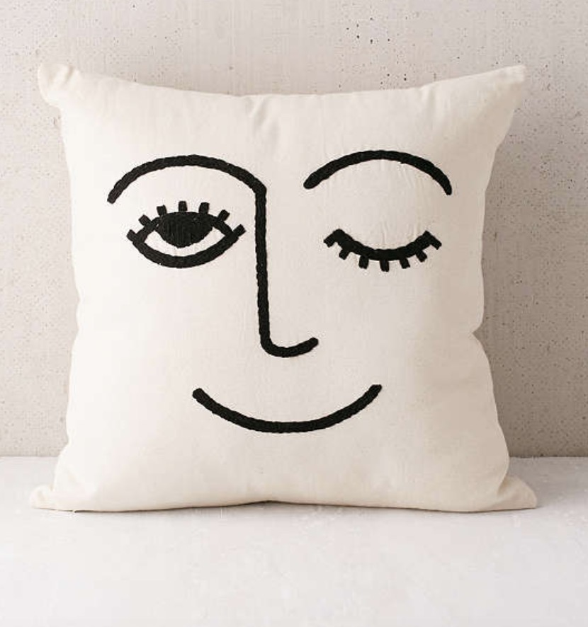 Urban Outfitters Pillow. Just a fun pillow to add to your bed.