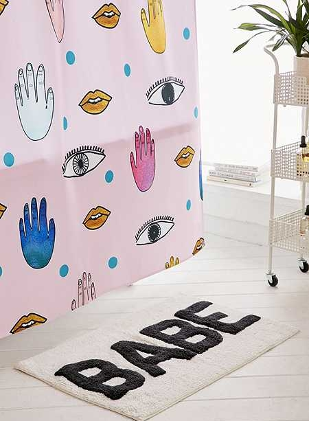Urban Outfitters Bath Mat. Who doesn't need a new bath mat?