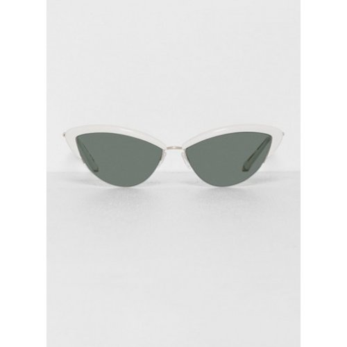 Tura Cat Eye Bone Sunglasses