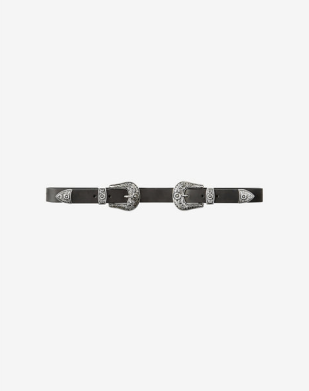 EXPRESS DOUBLE BUCKLE WESTERN BELT