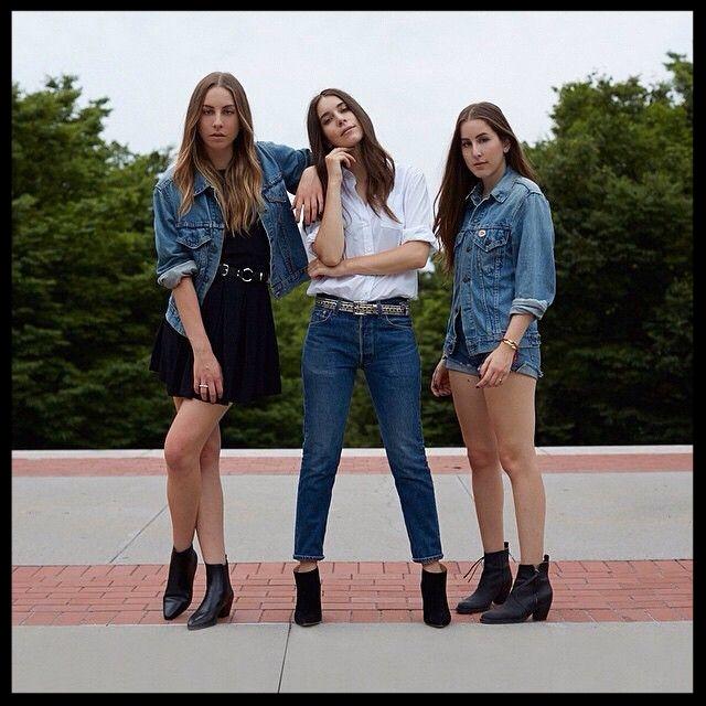 Haim Style Spotlight Jeans & A Tee