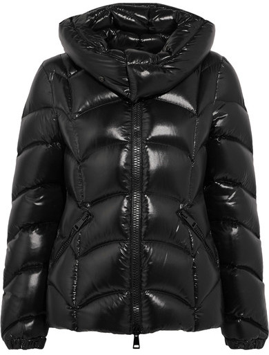 ASOS HIGH SHINE PATENT PUFFER JACKET  -