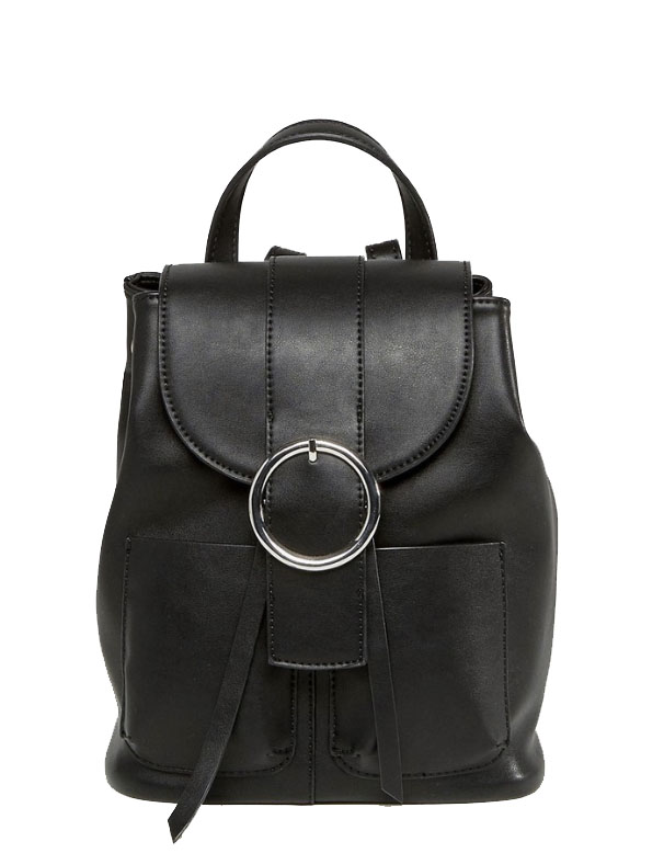 ASOS BUCKLE BACKPACK -