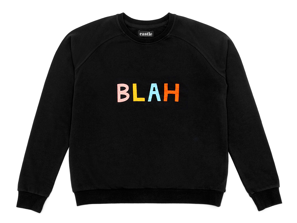 Castle and Things Blah Sweater - $95