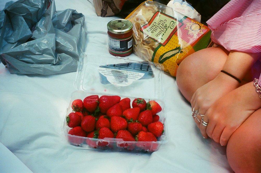 Trader Joes Strawberries.