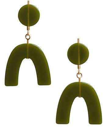 Madewell Shapes Statement Drop Earrings $28