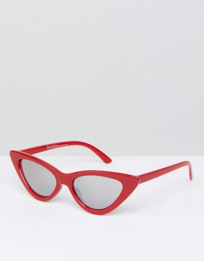 Bershka Narrow Cat Eye Sunglasses $16