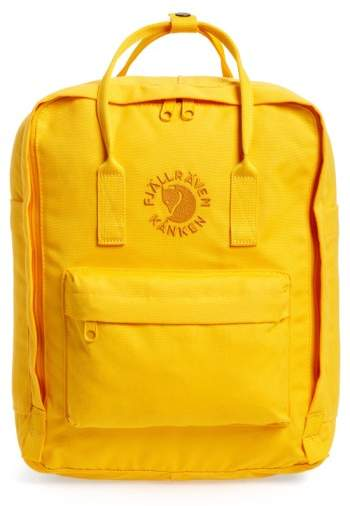 Fjallraven Re-Kanken Backpack $90