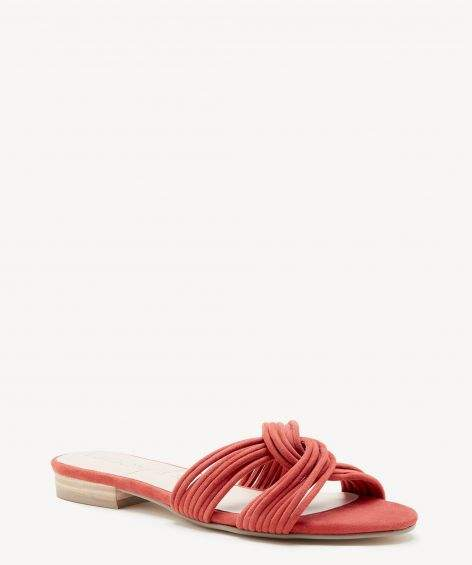 Dahlia Knotted Flat Sandal $31.98